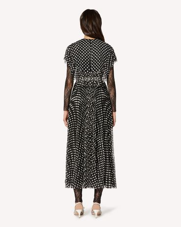 REDValentino TR3VA11J4SR 0NO Long and midi dresses Woman r