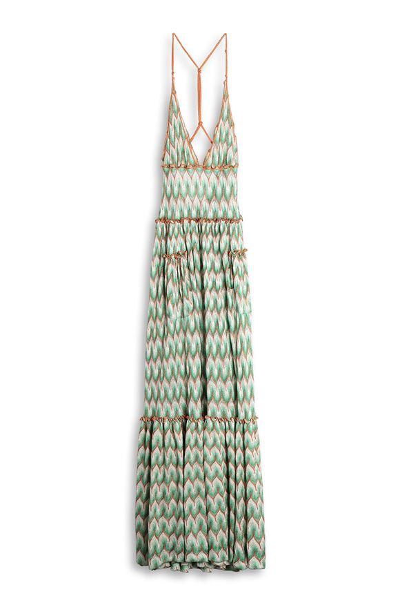 MISSONI Long dress Woman, Detail