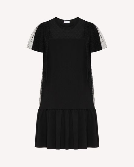 REDValentino Short dress Woman TR3MJ03P4UG 0NO a