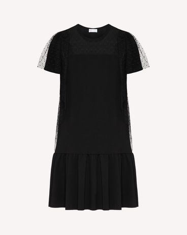 REDValentino TR3MJ03P4UG 0NO Short dress Woman a