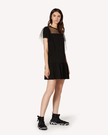 REDValentino TR3MJ03P4UG 0NO Short dress Woman d