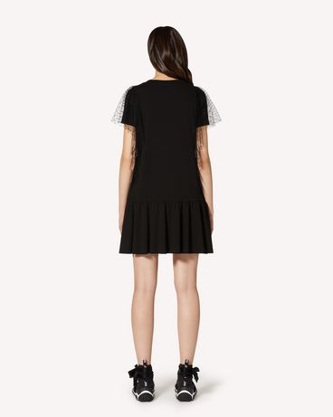 REDValentino TR3MJ03P4UG 0NO Short dress Woman r