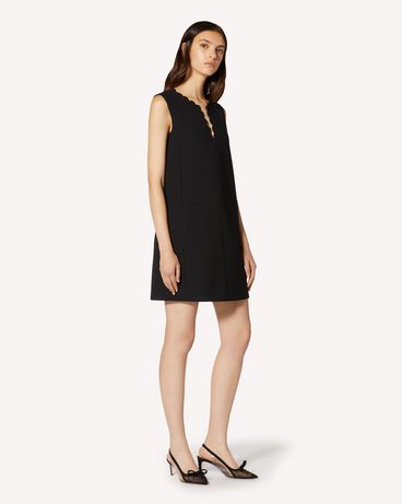 REDValentino TR3VAM251FR 0NO Short dress Woman d