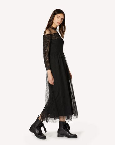REDValentino TR3VA11A4T9 0NO Long and midi dresses Woman d