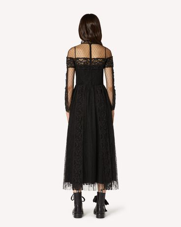 REDValentino TR3VA11A4T9 0NO Long and midi dresses Woman r