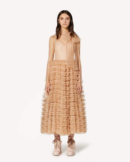 REDValentino Long and midi dresses Woman TR3VAP004RL 377 f
