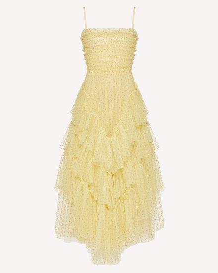 Festliches Kleid aus Tüll mit Glitzerpunkten