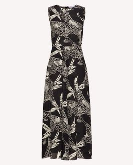 REDValentino Long and midi dresses Woman TR3VA11J4SR 0NO a