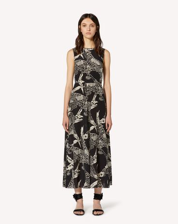 REDValentino TR3VAL354RT 0NO Long and midi dresses Woman f