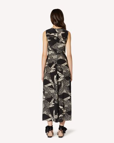 REDValentino TR3VAL354RT 0NO Long and midi dresses Woman r
