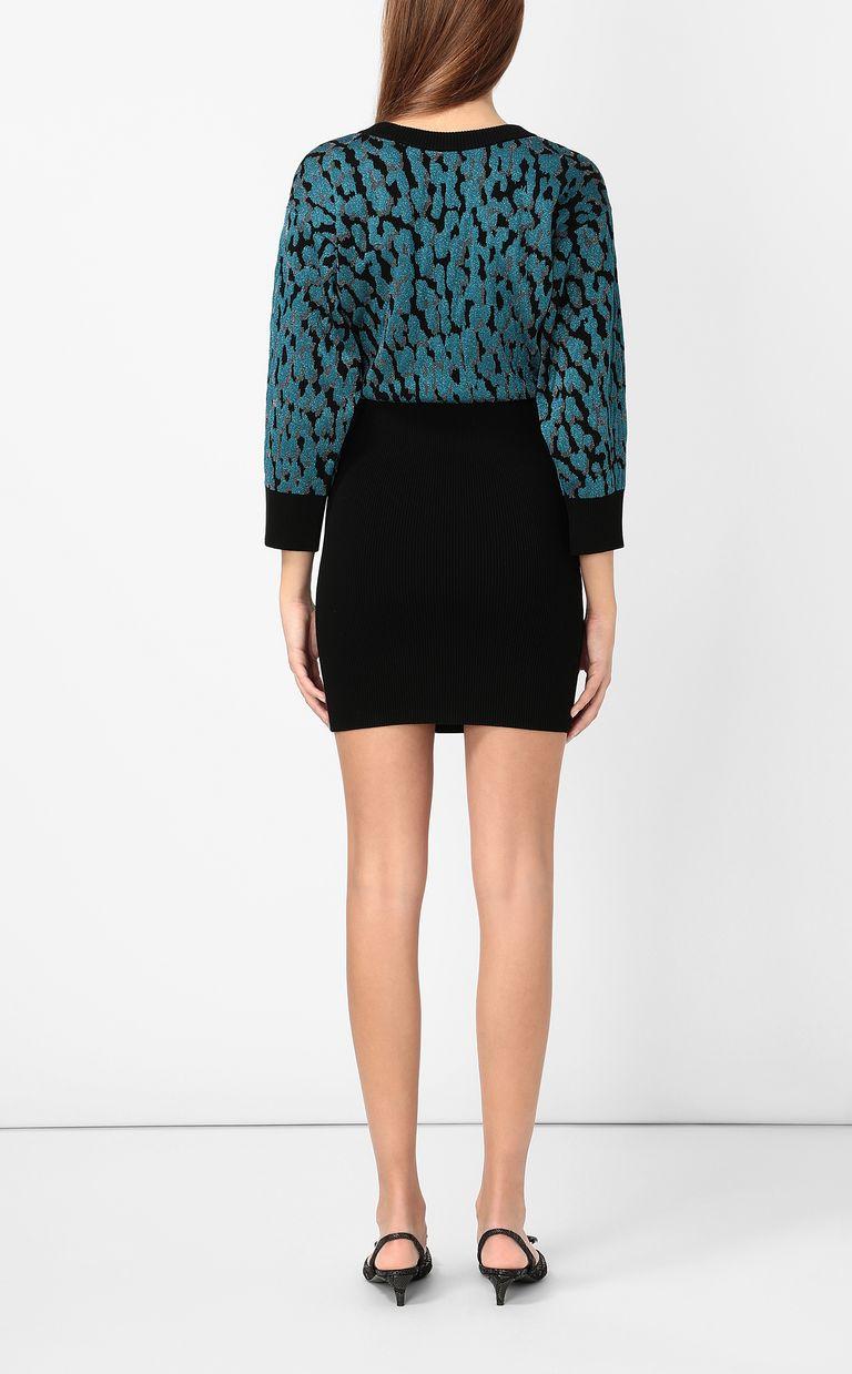 JUST CAVALLI Leopard-spot dress Dress Woman a