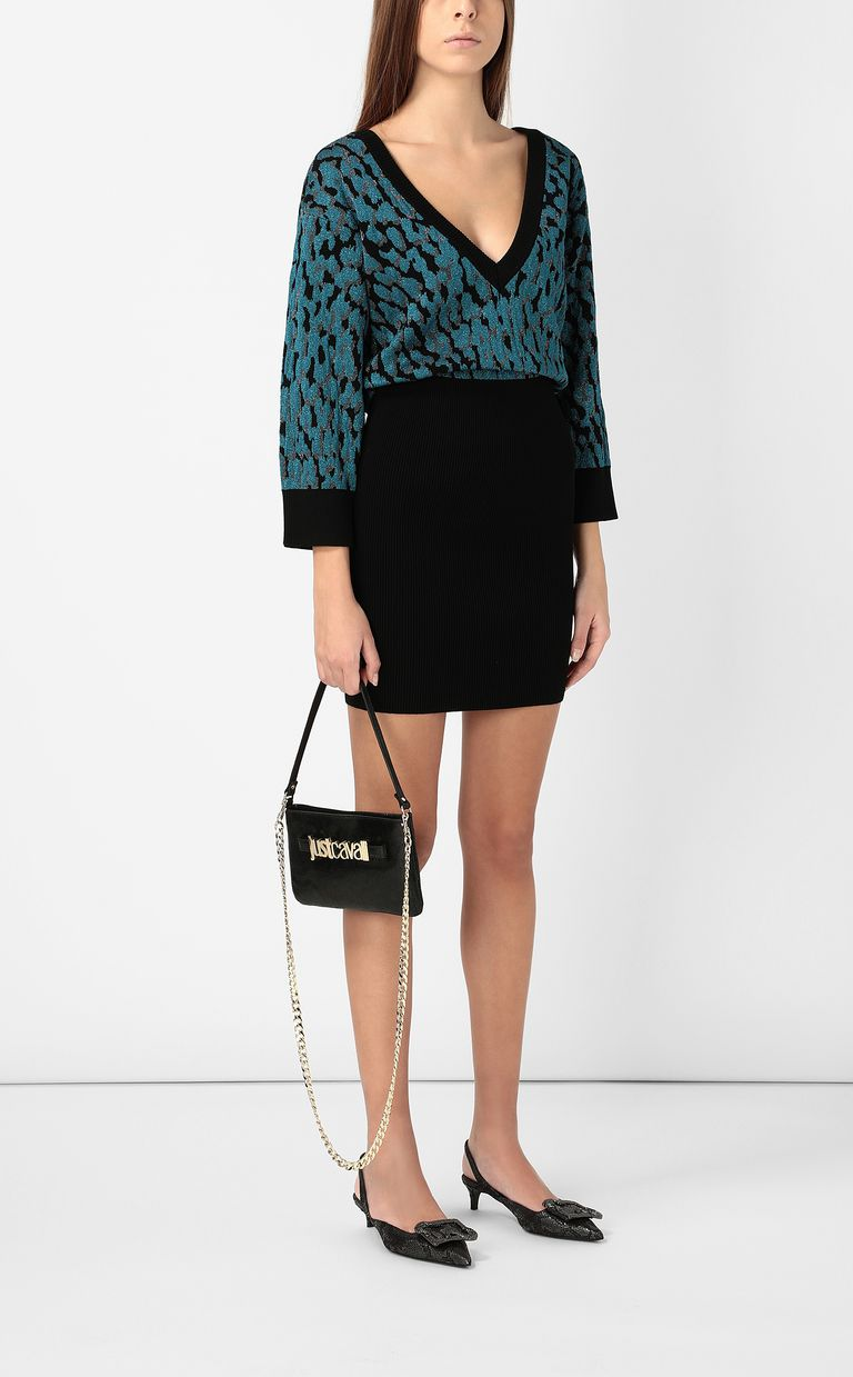 JUST CAVALLI Leopard-spot dress Dress Woman d
