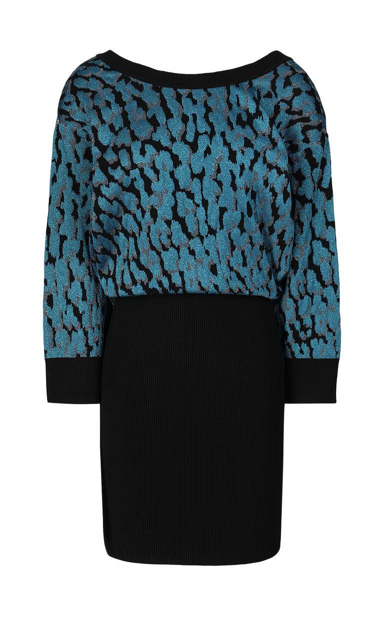 JUST CAVALLI Leopard-spot dress Dress Woman f