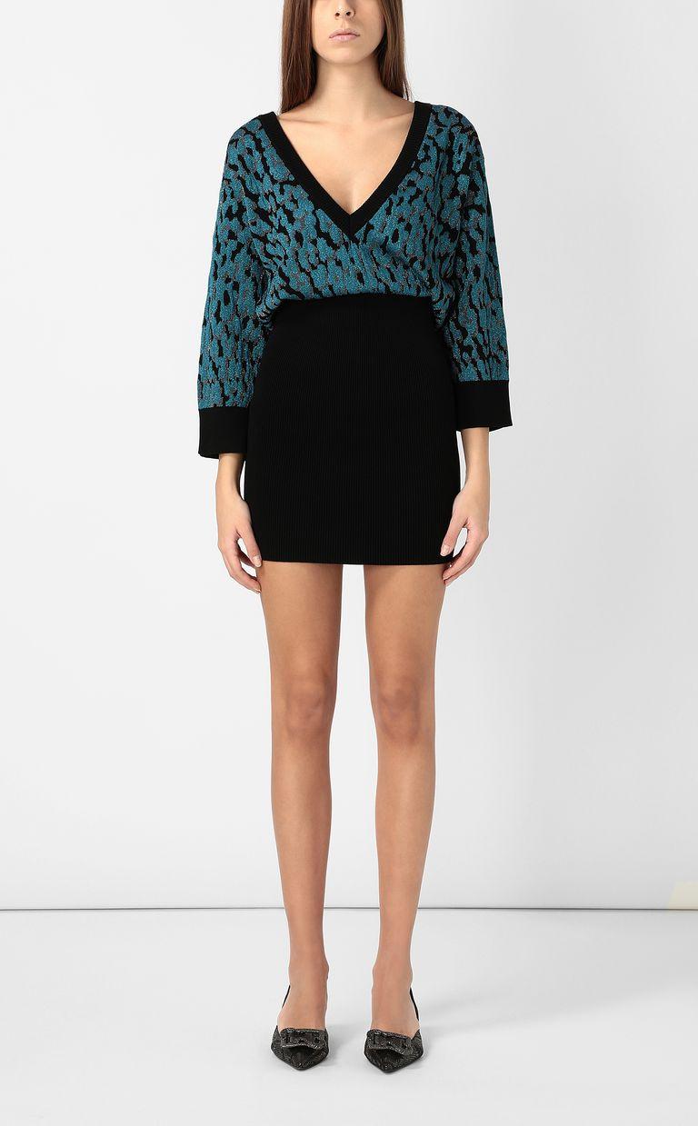 JUST CAVALLI Leopard-spot dress Dress Woman r