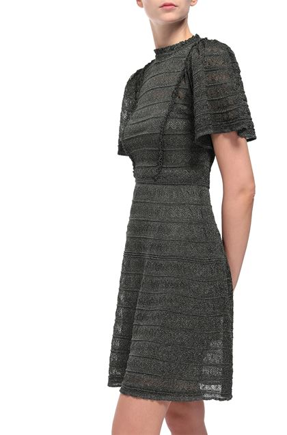 M MISSONI Dress Dark green Woman - Front