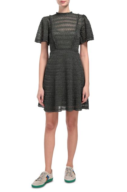 M MISSONI Dress Dark green Woman - Back