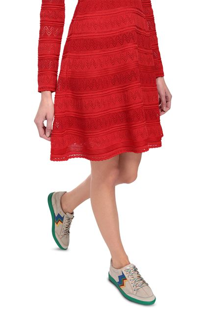M MISSONI Dress Red Woman - Front