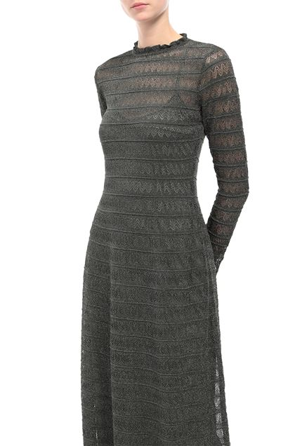 M MISSONI Long dress Dark green Woman - Front