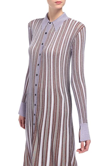 M MISSONI Long dress Lilac Woman - Front