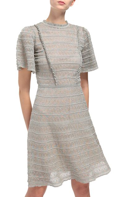 M MISSONI Dress Light grey Woman - Front