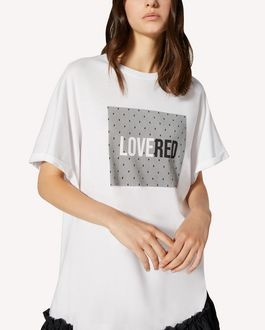 REDValentino LOVERED  printed T-shirt dress