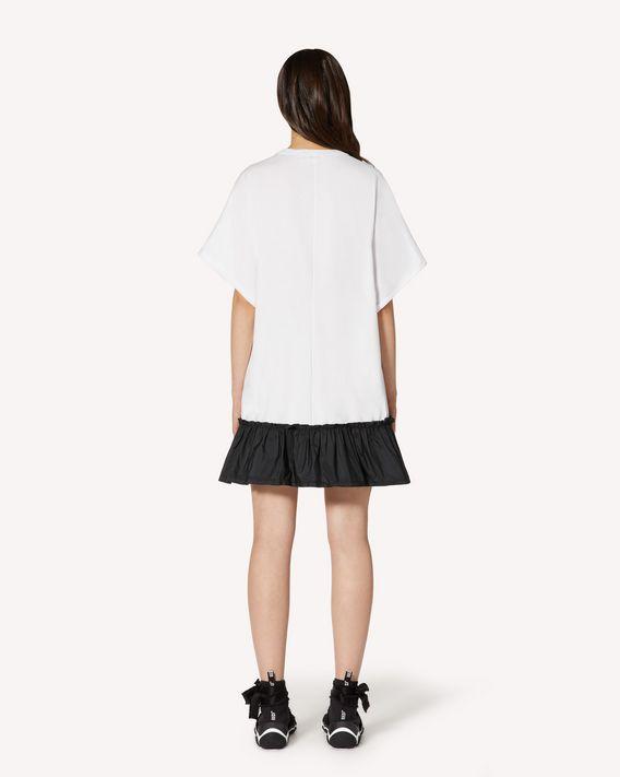 REDValentino LOVERED  printed T-shirt dress