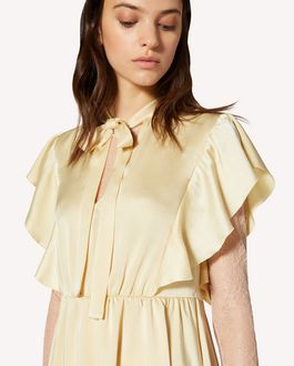 REDValentino Fluid satin dress