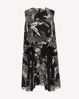 REDValentino Long and midi dresses Woman TR3VA11A4T9 0NO a