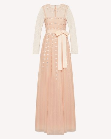 REDValentino TR3VA12H4TG 377 Long and midi dresses Woman a