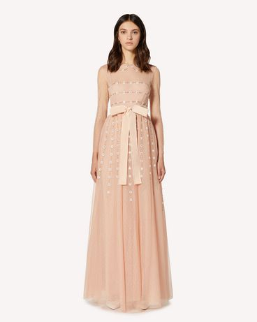REDValentino TR3VA12H4TG 377 Long and midi dresses Woman f