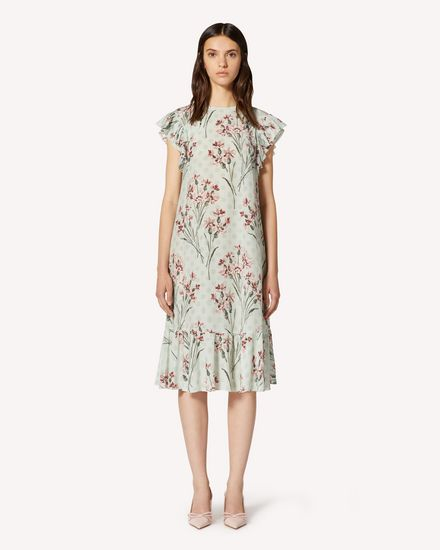 REDValentino Long and midi dresses Woman TR3VAL504RR I38 f