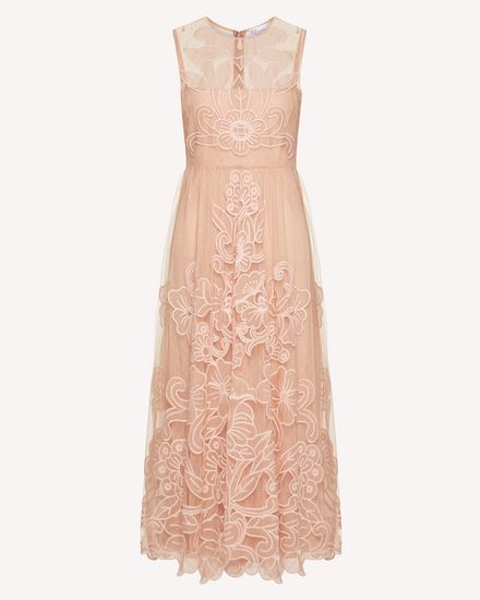 REDValentino Long and midi dresses Woman TR3VA10Y4T5 377 a