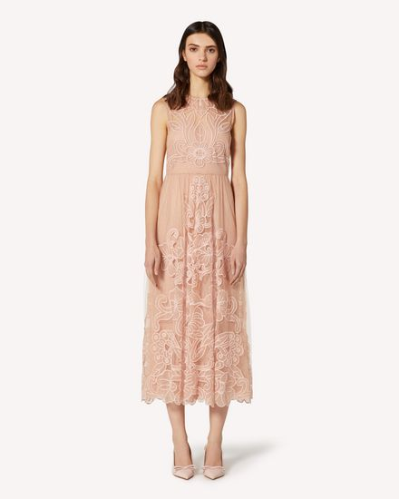 REDValentino Long and midi dresses Woman TR3VA10Y4T5 377 f