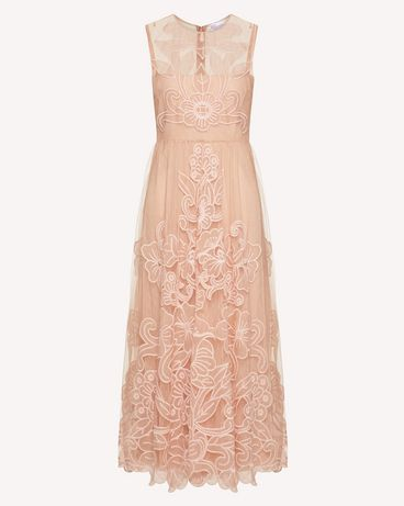REDValentino TR3VA10Y4T5 377 Long and midi dresses Woman a