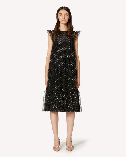 REDValentino Long and midi dresses Woman TR3VA10Z4TQ 0NO f