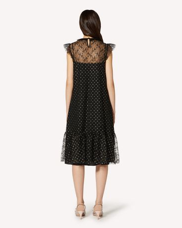 REDValentino TR3VA10Z4TQ 0NO Long and midi dresses Woman r