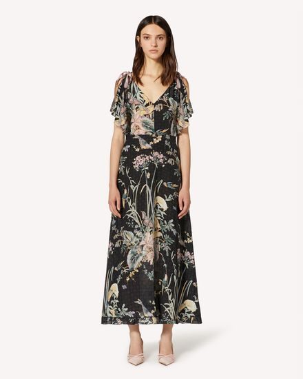 REDValentino Long and midi dresses Woman TR3VAK704RS 0NO f
