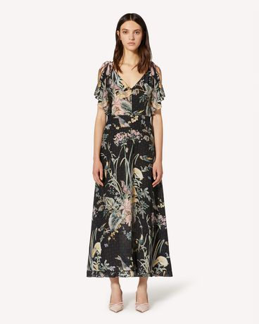 REDValentino TR3VAK704RS 0NO Long and midi dresses Woman f