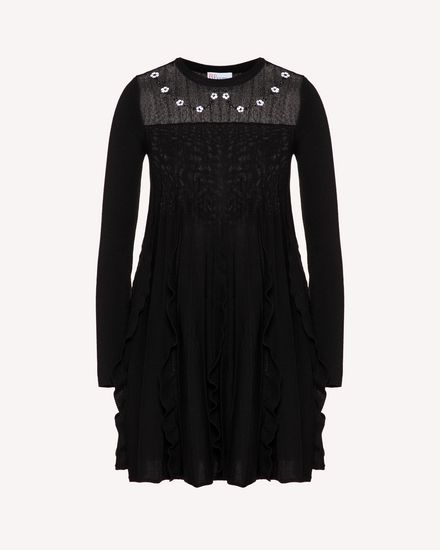 REDValentino Short dress Woman TR3KDB394UV 0NO a