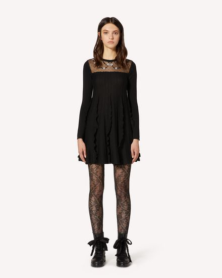 REDValentino Short dress Woman TR3KDB394UV 0NO f