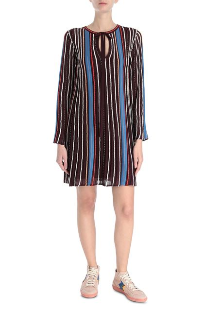 M MISSONI Dress Garnet Woman - Back
