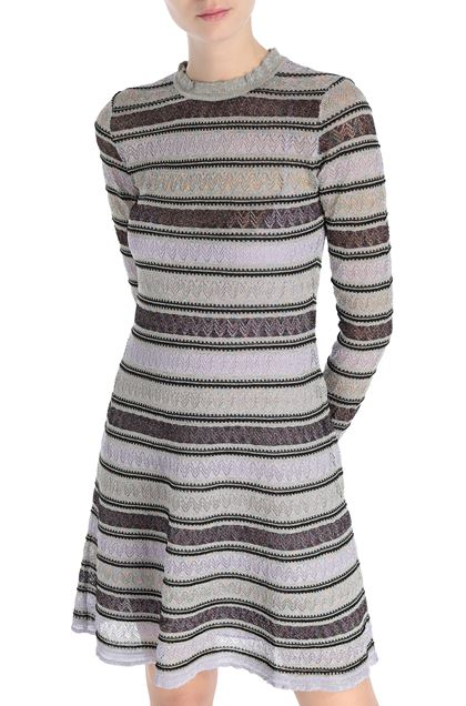M MISSONI Dress Lilac Woman - Front