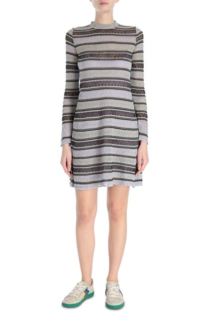 M MISSONI Dress Lilac Woman - Back