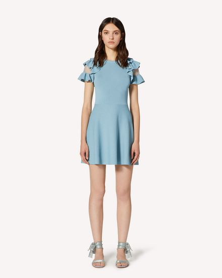REDValentino Short dress Woman TR3KDB134WL E34 f