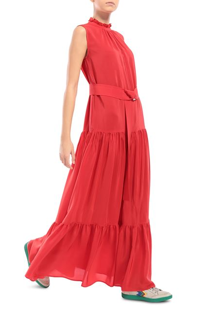 M MISSONI Long dress Red Woman - Front