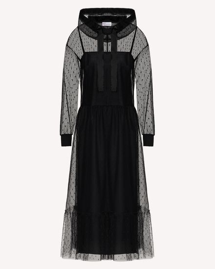 REDValentino Long and midi dresses Woman TR3VAL751GK 0NO a