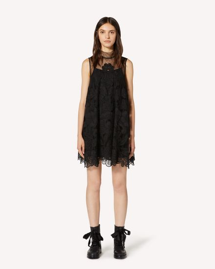 REDValentino Short dress Woman TR3VA11L4T5 0NO f