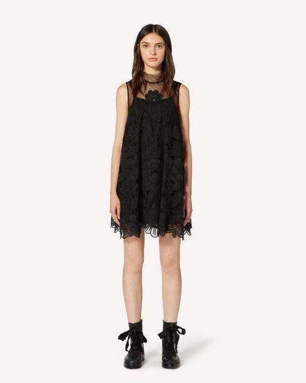 REDValentino 短款连衣裙 女士 TR3VA11L4T5 0NO f