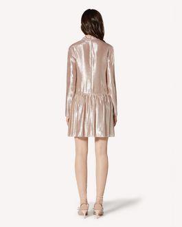 REDValentino Precious lamé dress