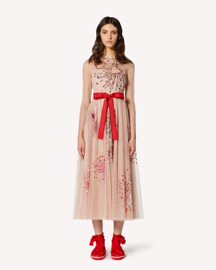 REDValentino Long and midi dresses Woman TRCVA14Q56W 377 f